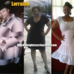 Lorraine weight loss before and after