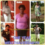 Nakia weight loss before and after