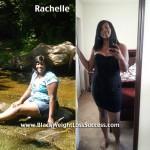 Rachelle lost 27 pounds