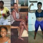 Tawanda weight loss before and after