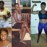 Tawanda lost 60 pounds