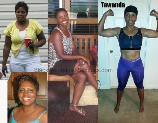 tawanda lost 60 pounds