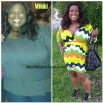 Vikki weight loss before and after