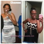 Chavone weight loss before and after