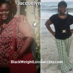 Jacquelyn lost 76 pounds
