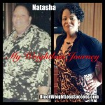 Natasha lost 280 pounds with weight loss surgery