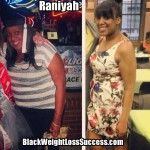 Raniyah lost 60 pounds