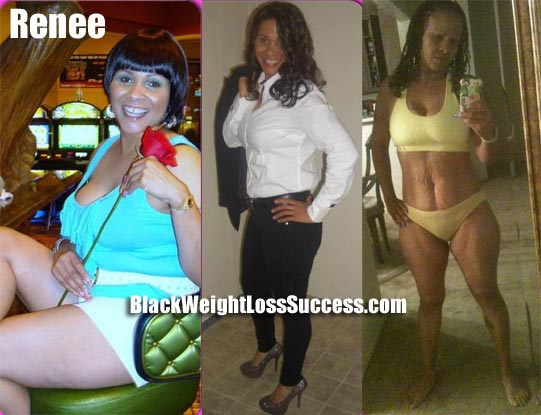 Renee lost 40 pounds | Black Weight Loss Success