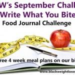 September 2013 Challenge – Write What You Bite Challenge