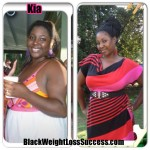 Kia lost 50 pounds and her husband lost 67 pounds