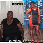 Melissa lost 157 pounds