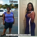 Tiffany lost 115 pounds