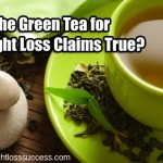 Are the Green Tea for Weight Loss Claims True?