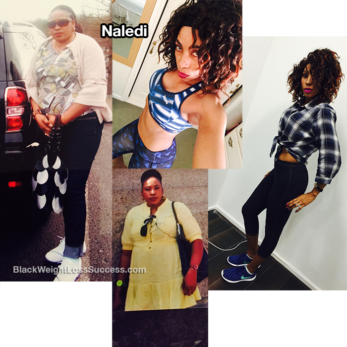 naledi before and after