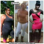 Chana lost 62 pounds
