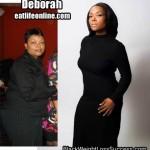 Deborah lost 89 pounds