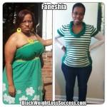 Faneshia lost 41 pounds