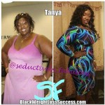 Tanya lost 76 pounds