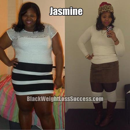 Jasmine lost 84 pounds | Black Weight Loss Success