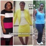 Kiera lost 50 pounds