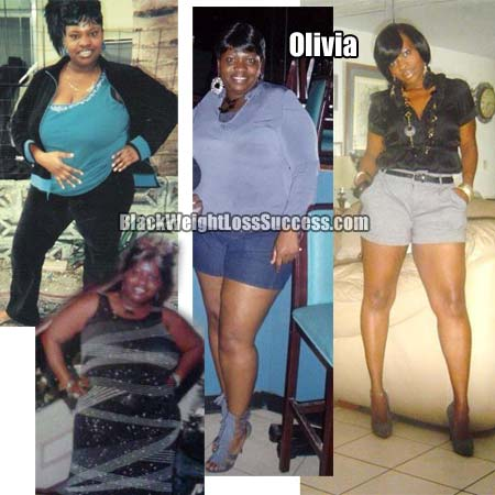Olivia Lost 102 Pounds Black Weight Loss Success