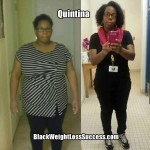 Quintina lost 70 pounds with weight loss surgery