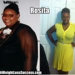 Rosita lost 50 pounds