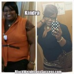Kindra lost 61 pounds
