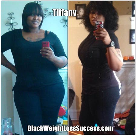 Tiffany lost 75 pounds | Black Weight Loss Success