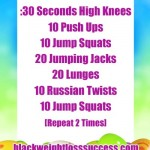 Day 20 April Challenge – Easter Workout