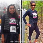 Robin lost 34 pounds
