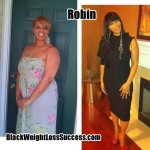 Robin lost 43 pounds