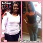 LaTonya lost 51 pounds