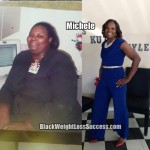 Michele lost 120 pounds