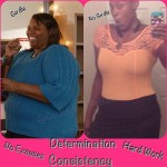Tamara lost over 230 pounds