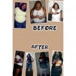 Lolitha lost 40 pounds