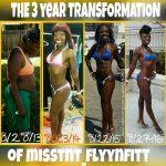 Tiffani lost 54 pounds