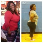Quiana lost 75 pounds