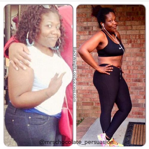 Spinning Bike Lose Weight: Black Weight Loss Success