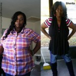 Sherita lost 73 pounds