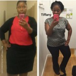 Tiffany lost 84 pounds with weight loss surgery