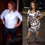 70 pounds down: Tiffany lost 30 more pounds