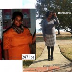 Barbara lost 73 pounds