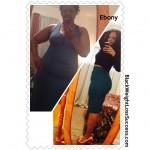 Ebony lost 33 pounds