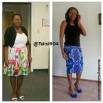 Tsitsi lost 78 pounds