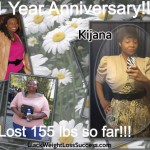 Kijana lost 155 pounds with surgery and hard work