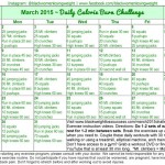 March 2015 Daily Calorie Burn Challenge