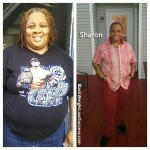Sharon lost 113 pounds