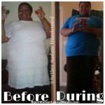 Alahaundra lost 27 pounds