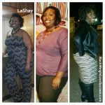 LaShay lost 70 pounds